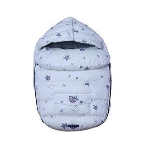 Baby Shield - 3 saisons - 7am - Blanc/Étoiles White With Stars 0-9 mois Blanc
