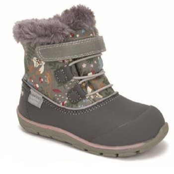 Botte mi-saison See Kai Run Abby II gray woodland