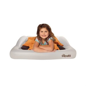 Lit gonflable Tolddler travel bed avec REBORDS + pompe - 2 ans +