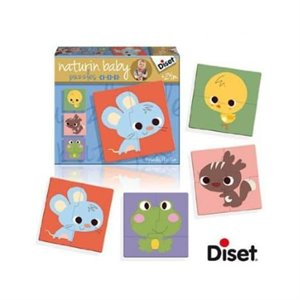Naturin Baby Puzzle 2-3-4 pièces - 24 mois +