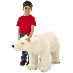 Peluche gros Ours polaire