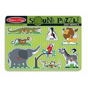 Puzzle Casse-tête sonore - Sound Puzzle - Animaux de la Jungle