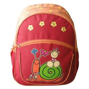 Sac à dos d'école Fulanitos - Catarina Escargot 3-7 ans+