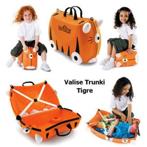 Valise Trunki - Tipu Tiger - Tigre Orange