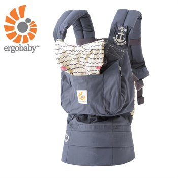Porte-bébé Ergonomique - Carrier Original - Ancre Sailor Bleu