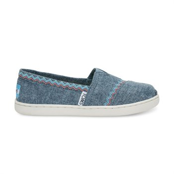 Classic Canvas - Blue Chambray Embroidery - Youth