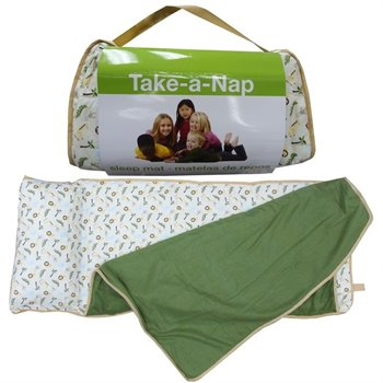 Tapis de sieste sac de couchage - Sleep mat - Animaux de la jungle 2-5 ans
