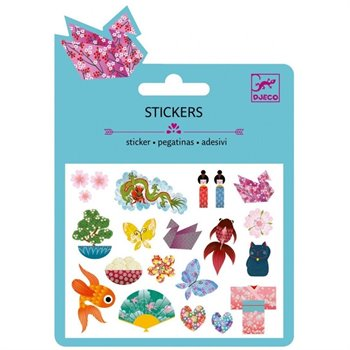 Mini Stickers - collants - Motifs japonais