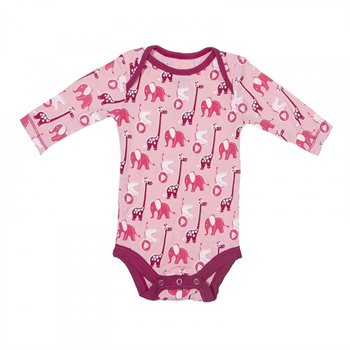 Cache couche Body - Rose/Lotus - Safari Animal - Bambou 12-18 mois Rose