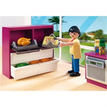 Playmobil cuisine compl te et figurines 5582 city life for Cuisine playmobil 5582