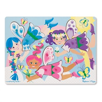 Peg Puzzle a chevilles - Dress-Up Fairy Fées