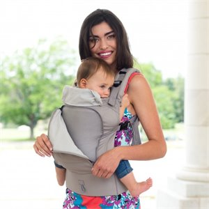 Porte bébé Ergonomique - Essentials - All seasons - Stone Gris claire