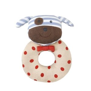 Chien Hochet Robbie Boxer dog Rattle - Organique
