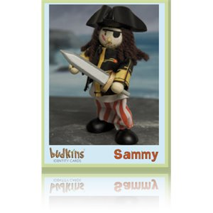 Pirate Sammy en Bois