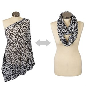 Foulard infini d'allaitement - Cheetah girl