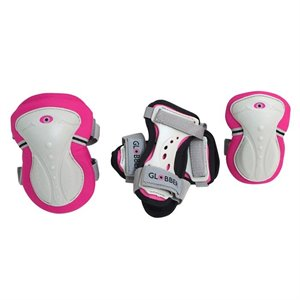 Ensemble complet de protection - 3-7 ans - Pink Rose