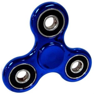 Spinner Metallic Bleu