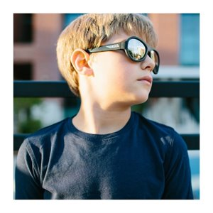 Lunette de soleil - Babiators - Black mirrored Lenses 7-12 ans Noir