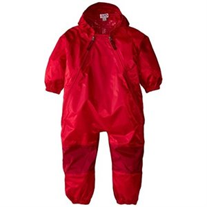 Imperméable 1 pce Muddy Buddy Style Kway - Red 4 ans Rouge