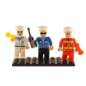 Ensemble de 3 figurines - Urgence