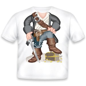 T-Shirt déguisement Pirate