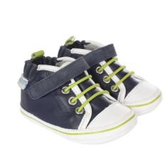 Mini Shoez - Camden Navy 6-9 mois Robeez us 2 eu 17/18 Marine Navy