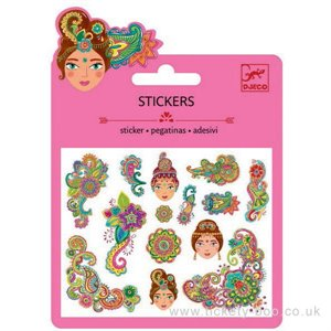 Mini Stickers - collants - motifs indiens