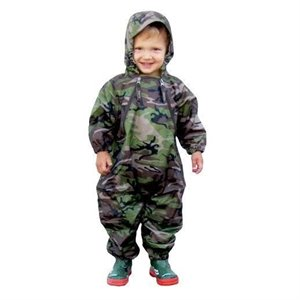 Imperméable 1 pce Muddy Buddy Style Kway - Camo 4 ans