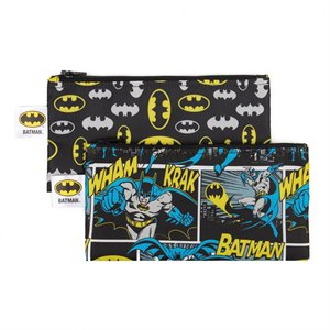 Ensemble de 2 sacs à Collation réutilisable - Batman