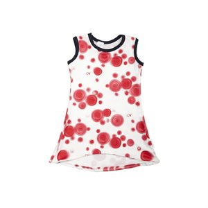 Robe - Pois rouge