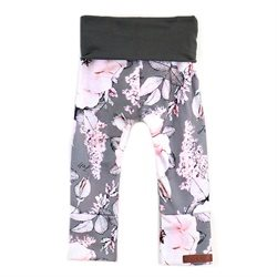 Pantalon évolutif - Collection Gris Floral
