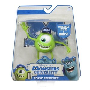 Pixar Monstres et Compagnie Monster University Scare Student - Mike Wazowski