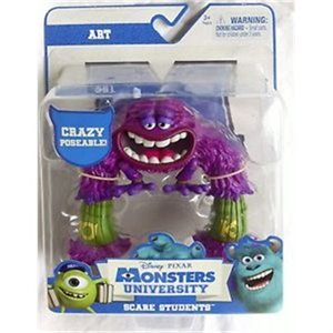 Pixar Monstres et Compagnie Monster University Scare Student - Art