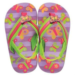 Tongs Flip-Flop - Papillon S - us 7-8 eu 23-24 Violet