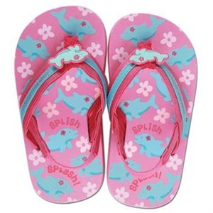 Tongs Flip-Flop - Dauphin Rose & Bleu