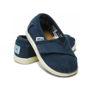Classic Canvas - Tiny - Blue us 11 eu 28-28.5 Marine Navy