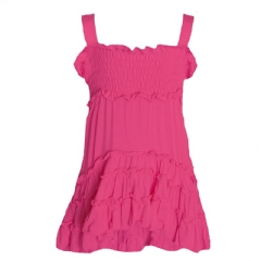 Robe soleil Rose Flamingo Sundress - Bambou 2 ans Rose