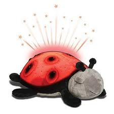 Twilight Ladybug - Veilleuse et constellations Coccinelle - Red Rouge