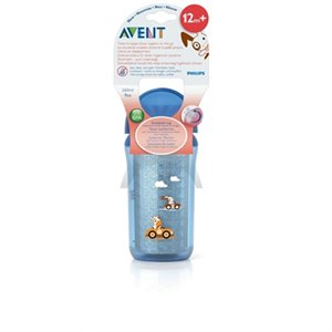 Bouteille gobelet isotherme avec paille - Click Lock - 260 ml
