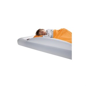 Lit gonflable Enfant travel bed avec REBORDS + pompe - 6 ans +