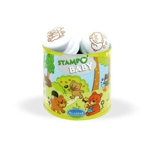 Tampons encreurs Estampe  - Stampo Baby - Oursons mignons