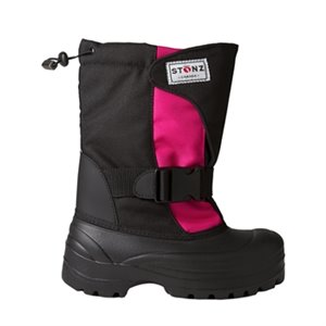 Botte d'hiver enfant et junior Trek - Black Pink Junior us 1 eu 31-32 Noir & Rose
