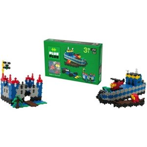 Mini Basic - Construction - 480 pcs - 3 en 1 vert - 4 à 12 ans+