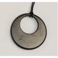 PROTECTION ANTI-ONDES - Collier Pendentif Cercle