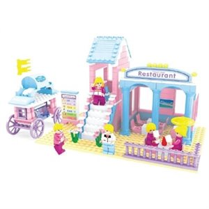 Restaurant Good Time Fairyland - Bric Tek - 342 pcs