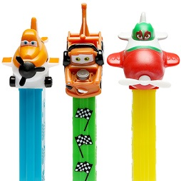 Distributeur et Bonbon PEZ - Disney Les Avions Planes the Cars