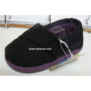 Classics Wool - Tiny - Purple Plaid et Fourrure us 11 eu 28-28.5 Violet & Noir