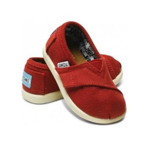 Classic Canvas - Tiny - Red us 11 eu 28-28.5 Rouge