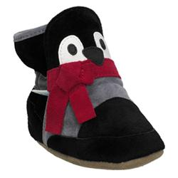 BOOTIES - Botte Peter Pinguouin 0-6 mois us 2 eu 15/16 Noir