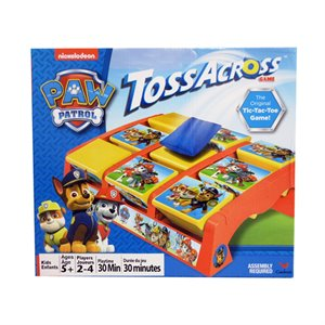 Tic Tac Toe Pat Patrouille - Paw Patrol Toss Across Game